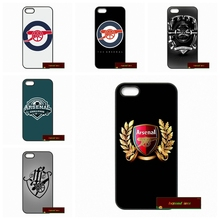 Arsenal Football Club Hard Phone Case Cover For iPhone 4 4S 5 5S 5C SE 6 6S 7 Plus 4.7 5.5      #HE1376