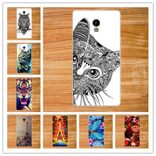 14 Patterns Painted Cartoon Luxury DIY Colorful paitning back cover for Prestigio Grace S5 LTE PSP5551Duo 5551 Duo Phone Case