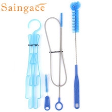 Saingace 1X Water Hydration Bladder Tube Cleaner Brushes Tube Cleaning Kit  IUT6531 DROP SHIP