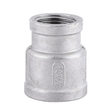 1Pc Female Threaded Reducer Pipe Stainless Steel SS304 Fitting BSP Standard High Quality
