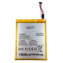 100% Original Alcatel TLp028A2 2820mAh Replacement Battery For Alcatel TCL smart phone Bateria Free Shipping + Tracking Number