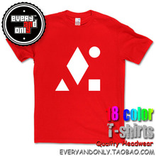 Clean Bandit Electronic Band White Geometric Logo 100% Cotton T-shirt Tee T Clothing