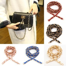 Purse Bag Strap Chain Crossbody Replacement DIY Shoulder Handbag Handle Metal Chain Messenger Bag Shoulder Strap Side Metal