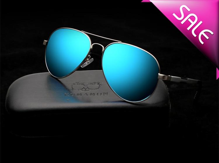 Brand Men Sunglasses Mirror Blue Polarized Lenses EXIA OPTICAL KD-505 Series<br><br>Aliexpress