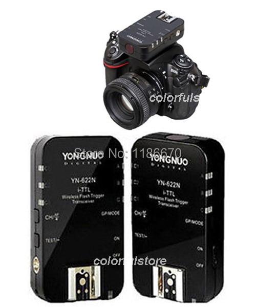 YN-622N YN622N Wireless iTTL Flash Trigger for Nikon D1 D2 D2H D3 D3X D30 D40 D50 D60 D70 DSLR Camera Flash Speedlite Speedlight<br><br>Aliexpress
