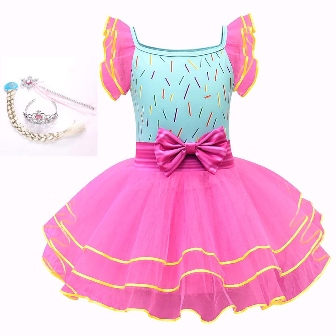 Girls dress fancy nancy beautiful Nancy cosplay children/'s dress sling tutu
