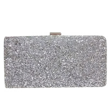 Hot Fashion Woman Evening bag Women Diamond Rhinestone Clutch Crystal Day Clutch Wallet Wedding Purse Party Banquet(China)
