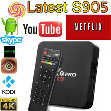 2016 New MXQPro Android TV Box Amlogic S905X Quad Core Android5.1 DDR3 1G HDMI 2.0 WIFI 4K 1080i/p Kodi 16.0 Full loaded add-ons