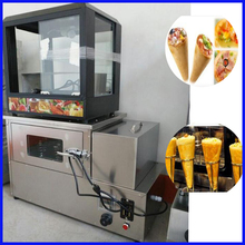 Food grades stainless steel 12 pieces heat preservation pizza cone display maker machine(China)