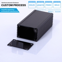 junction box 46.2*29.6*90mm (wxhxl) aluminium enclosure /custom aluminum enclosure