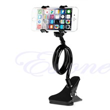 OOTDTY Hot Universal Lazy Bed Desktop Mount Car Stand Holder For Cell Phone Long Arm(China)