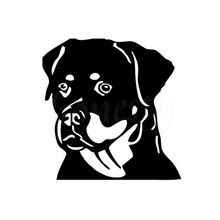 Funny Pet Dog China Trend Cartoon Animals Car Stickers Wall Home Glass Window Door Auto Parts Vinyl Decals Decor 11.4cmX11.7cm(China)