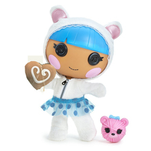 MGA Lalaloopsy Littles Doll - Bundles Snuggle Stuff Children's gifts for girl Button series Out of print collection Classic MGA(China)