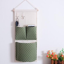 Wall Mounted 3 pocket Storage Bags bathroom kitchen supplies Fluid Systems Multilayer Pouch