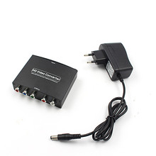 Newest 1080P HD Clear HDMI To RGB Component YPbPr video and R/L audio Adapter Converter(China)