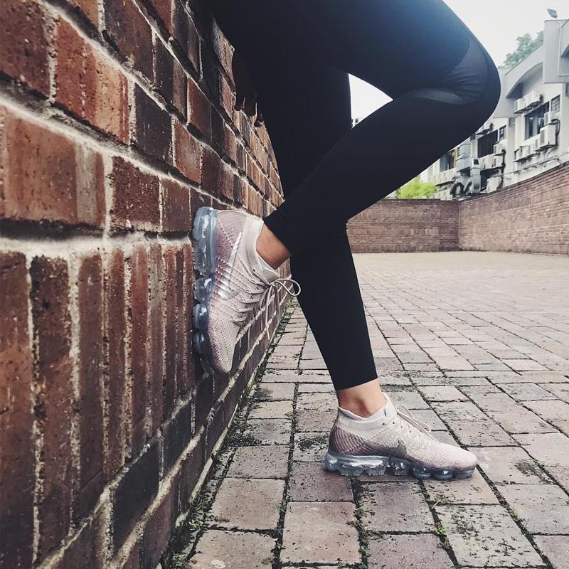 Nike Air VaporMax Flyknit Women\u0027s Running Shoes Sneakers 849557,202