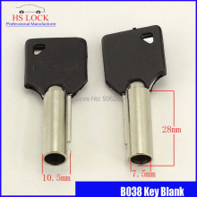 extra long plum flower  key blank civil locksmith tools key blank Vertical key cutting machine keys embryo B038