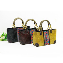 Section Thai version of the handmade straw bread bag package package holiday bag handbags Europe and the United States package