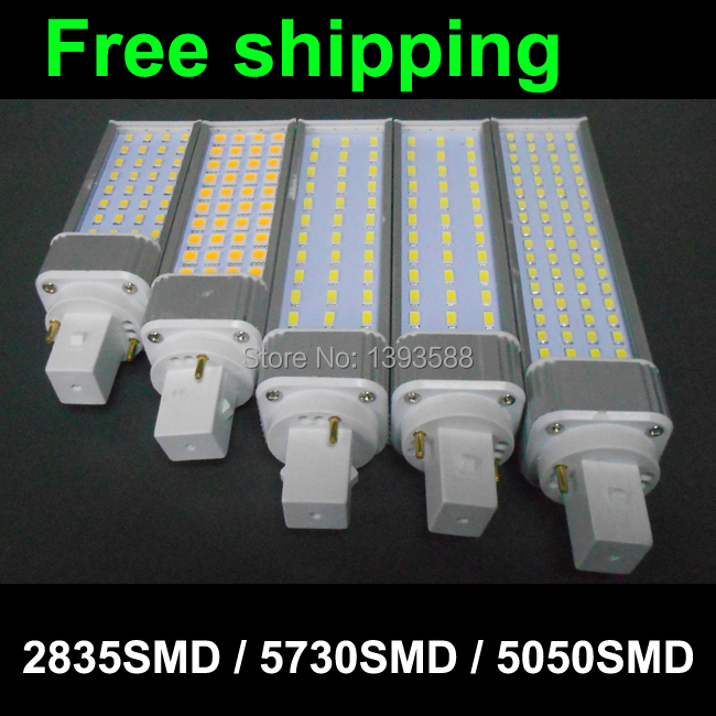 2 pin g24 led pl bulb Lamp 5W 7W 9W 10W 11W 12W 14W SMD5730 5730 2835 downlight light AC85-265V 110V 220V<br><br>Aliexpress