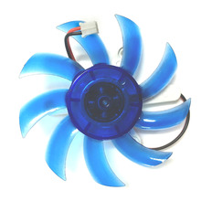 Computer PC VGA cooler Video graphics Card Heatsink Cooler Cooling Fan 75mm 12V 2-Pin