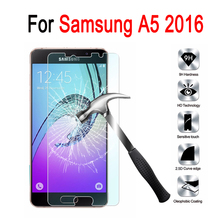 Tempered Glass For Samsung A5 2016 Prime Screen Protector on Samsung Galaxy A 5 2016 A510 A5100 SM-A510F Protective Film Case
