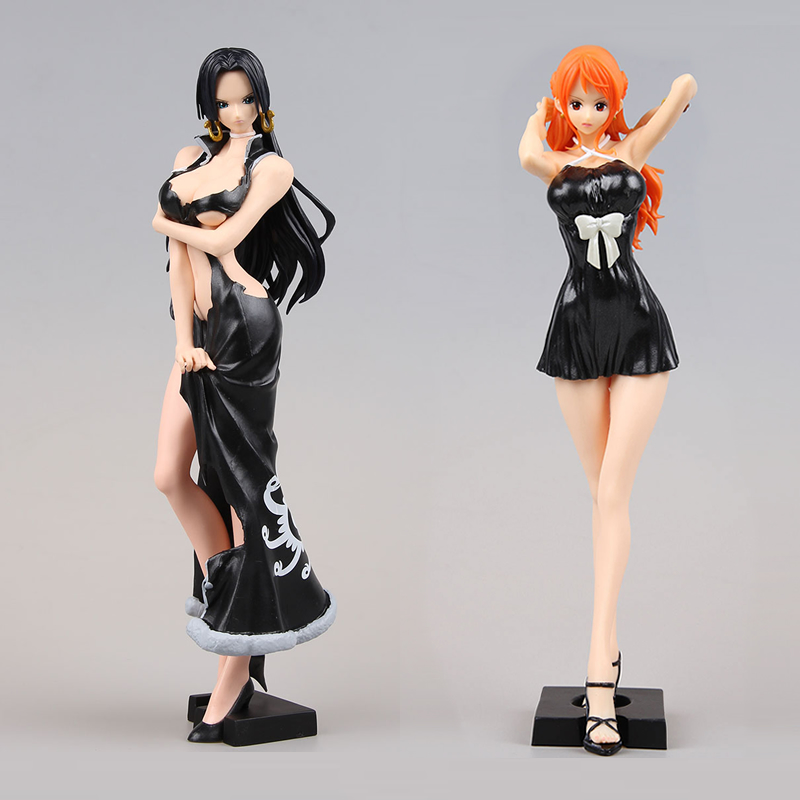 Japan Anime One Piece OP  Original BANPRESTO Glitter And Glamours  Nami PVC Figure Model Doll Toys Figurines<br>