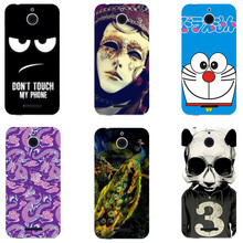 Cute Cartoon Case For HTC Desire 510 A11 Cover HD UV Printing Hard Plastic Printed Phone Back Shell Capa Funda Newest Fashion(China)
