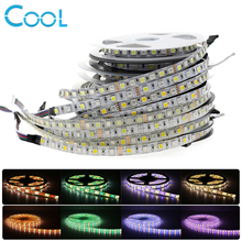 LED Strip 5050 RGBW Waterproof /Non Waterproof DC12V /24V Neon Tape Strip Light 60 /96 LED/m RGB+White / RGB+Warm White 5M(China)