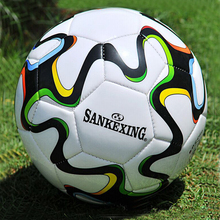 Professional 2016 2017 Futbol Sutures Match Football Size 5 Training Equipment France Standard Soccer Balls Voetbal Bal(China)