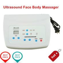 Ultrasonic Heating Function Ultrasound Facial Body Skin Massager Pain Therapy Ultrasonic Machine 110v/220v /UK Plug