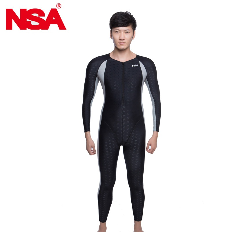 NSA swimwear women competition swimsuit female arena swimming suit shark plus size racing swimsuits full body competitive