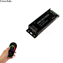 Free Shipping New 2015 Led RGB DMX Decoder Controller 12V DMX512 Decoder RF Remote Led Strip Rgb DMX Controle Console Dmx101