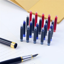 5 Pcs / Lot Fountain Pen Ink High Quality Office & School Supplies Cartridge Red Black Blue Navy Blue 100% New