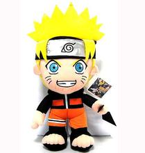 "Plush Anime Naruto Uzumaki Naruto Plush Toy Cosplay Costume Soft Stuffed cute Doll Gift 12"" Free Shipping(China)"