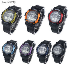 SmileOMG Boy Girl Alarm Date Digital Multifunction Sport LED Light Wrist Watch Christmas Gift,Sep 1