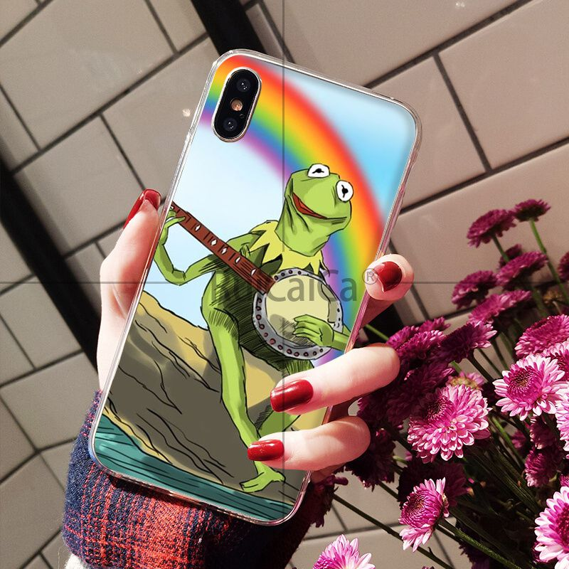 Kermit the Green frog Funny Cute Gay