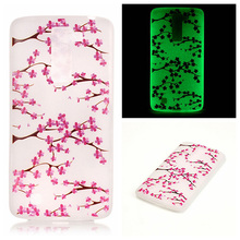 Luminous Silicon Mobile Phone Cases for LG K7 LTE Tribute 5 LS675 Q7 LTE MS330 K7 Dual SIM K7 M1 Housing Covers Skin Shell Bags