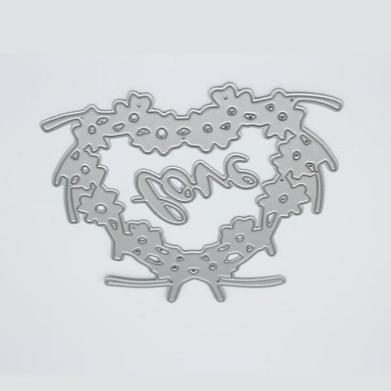 YLCD035 Love Tree Metal Cutting Dies Scrapbooking Stencils DIY Cards Album Decoration Embossing Folder Die Cutter Template Mold