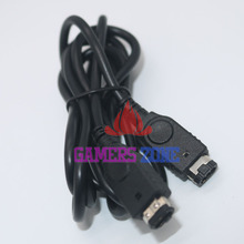 10pcs Black 1.2M 2 Player for GBA GBASP Link Cable Cord For Nintendo GameBoy SP