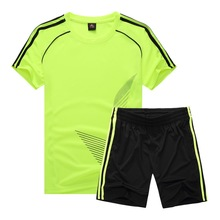 Soccer Jersey Sports Costumes for Kids Clothes Football Kits for Girls Summer Children's Suits Boys Clothing Boys Sets Uniforms.(China)