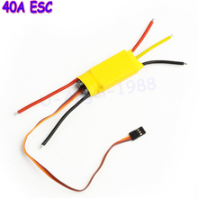 1pcs 40A ESC Brushless Motor Speed Controller RC UBEC 4A 50A Wholesale(China)