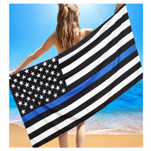 American Flag Beach Pool Home Shower Towel Blanket Table Cloth Wall Hanging Dorm decor US national flag drop ship sale