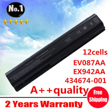 Wholesale New 12 cells laptop battery FOR HP Pavilion dv9000 ~~9900 Series EX942AA  HSTNN-Q21C EV087AA HSTNN-IB34  free shipping