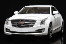 Diecast Car Model Cadillac New ATS-L 2016 1:18 (Summit White) + SMALL GIFT!!!!!!!!!!!