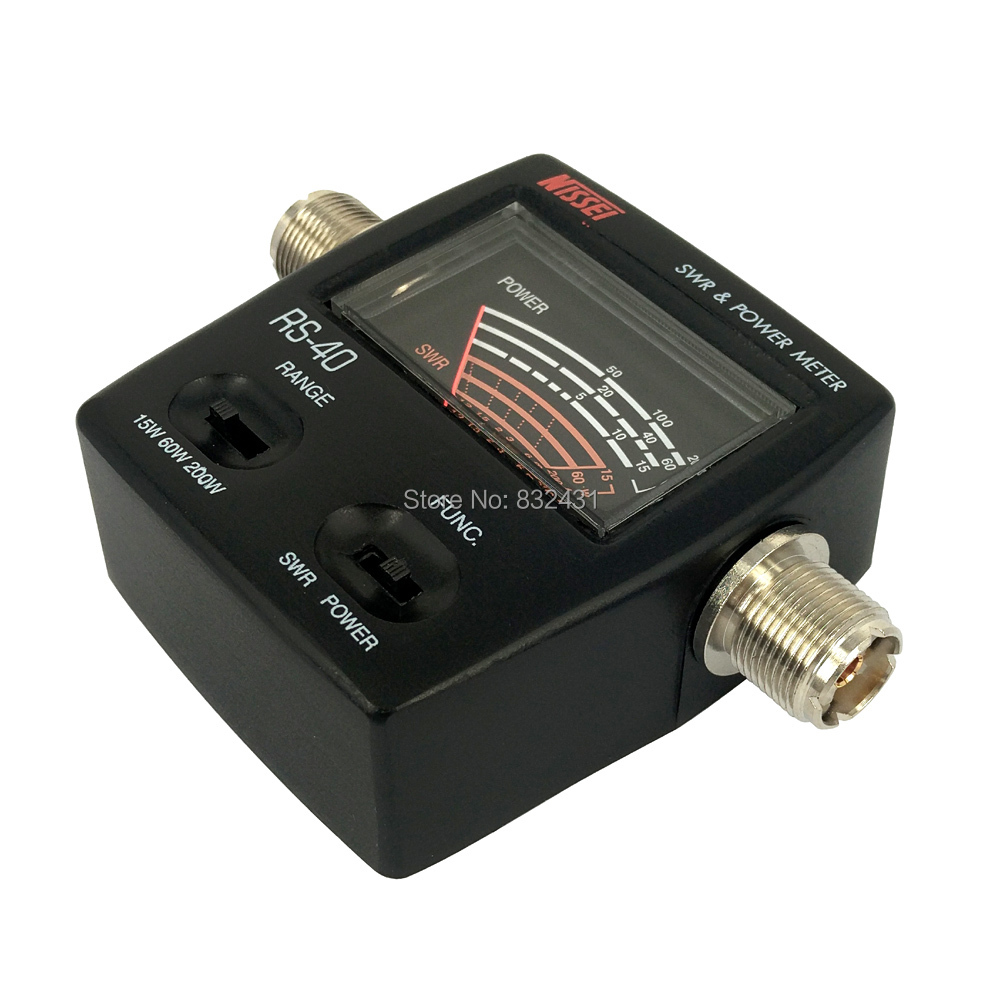 RS-40 SWR Power Meter 6