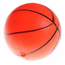 Inflable del bebé chico Mini juguete de baloncesto de la educación temprana  pequeña bola 12 cm no-tóxicos niño juguete jardín de. 5127a42db8c68