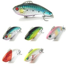 Fishing Lure Lipless Trap Crankbait Hard Bait Fresh Water Deep Water Bass Walleye Crappie Minnow Fishing Tackle L102(China)