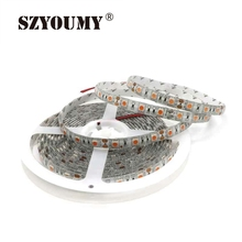 SZYOUMY 12V 5050 SMD LED Strip Light 60LED/m Waterproof Fita Ribbon Tape Car Lamp Pink 12V 15 Meters(China)