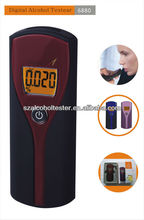 10 psc/lot Portable Digital Breath Alcohol Tester with 3 Digit LCD Display, Digital Alcohol Tester DYT-6880(China)