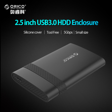 ORICO 2.5 inch HDD Case USB3.0 To SATA Free Tools HDD Enclosure for Windows 2000/XP/7/8/10 Linux Mac OS 9.1 or above(China)